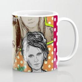 (Supermodels - Fashion) - yks by ofs珊 Coffee Mug