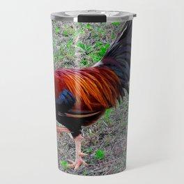 Key West Rooster Travel Mug