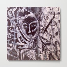 She's indifferent Metal Print