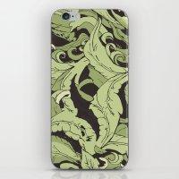 kodama iPhone & iPod Skins featuring KODAMA by Ron Gervais