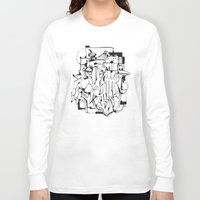 solid Long Sleeve T-shirts featuring Solid Ground by 5wingerone