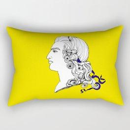 Louis XV cameo portrait Rectangular Pillow