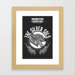 Monster Hunter All Stars - The Silver Sols Framed Art Print