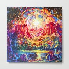 Konstantin Bogaevsky Mountain Landscape Metal Print