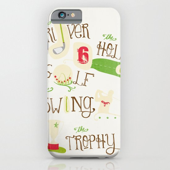 Golf  iPhone & iPod Case