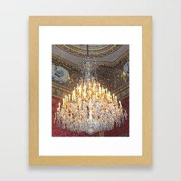 Crystal Elegance Framed Art Print