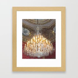 Crystal Elegance Framed Art Print