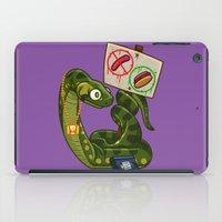 anaconda iPad Cases featuring Anaconda Buns by Artistic Dyslexia