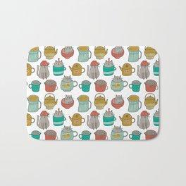 Pattern Project #5 / Cats and Pots Bath Mat