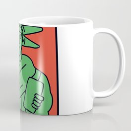 Statue of Liberty Keith Haring Coffee Mug