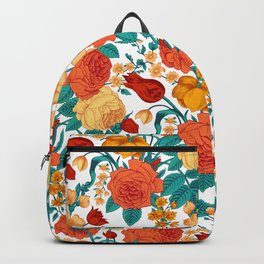 Vintage flower garden Backpack