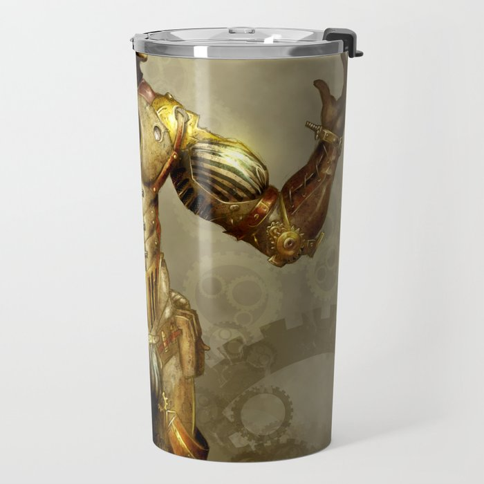 Mr. Steampunk Travel Mug