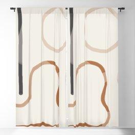 Minimal Abstrac Line Shapes 2 Blackout Curtain