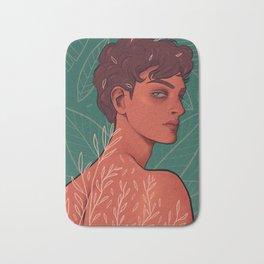 adam ╱ leaves Bath Mat