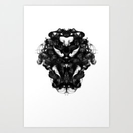 """""""Now, tell me what you see."""" Art Print"""