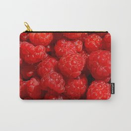 Wild berries of forest raspberries Carry-All Pouch