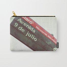 9 de Julio Carry-All Pouch