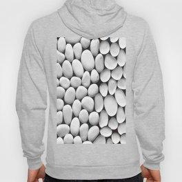 White Stones Background Vector Hoody
