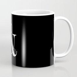 AMPERSAND B&W Coffee Mug