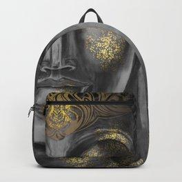 Buddha Gray Backpack
