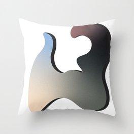 Strange Bird Throw Pillow