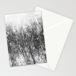snow dreams Stationery Cards