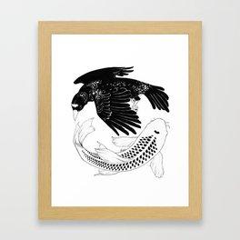 A Bird May Love a Fish Framed Art Print