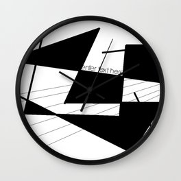enter text here Wall Clock