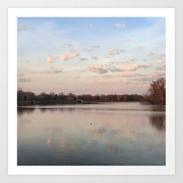Lake of the Isles Art Print