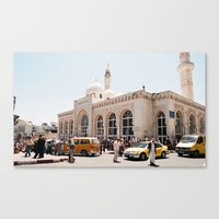 palestine Canvas Prints featuring Ramallah, Palestine by ear2ear