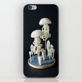 Paleozoic Sea Creature: jellyfish iPhone Skin