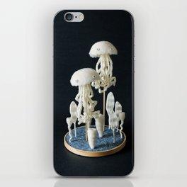 Paleozoic Sea Creature: jellyfish iPhone Skin