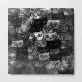 cats-18 Metal Print