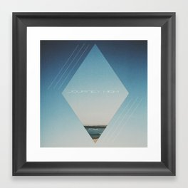 Journey High Framed Art Print