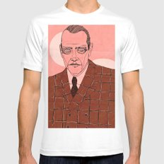 Nucky Thompson MEDIUM White Mens Fitted Tee