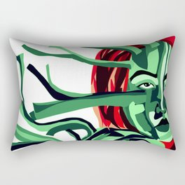 branched fused Rectangular Pillow