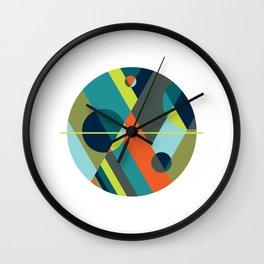 Scenarios, No. 2 on White Wall Clock