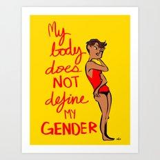 Gender Poster  Art Print