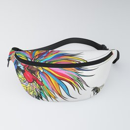 RobiniArt Chicken and Bee Fanny Pack