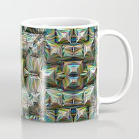 bands Mugs featuring Structural Bands of Color   by Phil Perkins