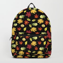 Autumn Falling Leaves Backpack
