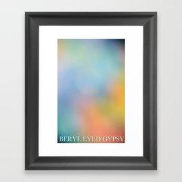 Summer Black Rainbow 2012 Framed Art Print