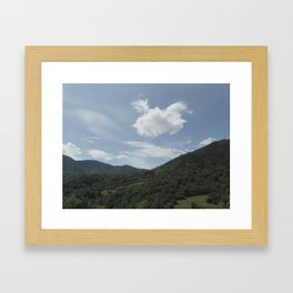 The Carpathians Framed Art Print