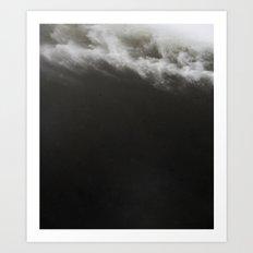 Black Ocean #society6 #decor #buyart Art Print