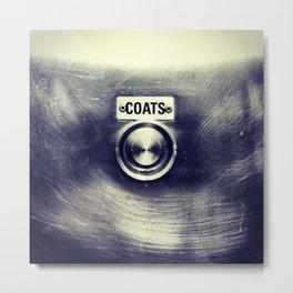 COATS Metal Print