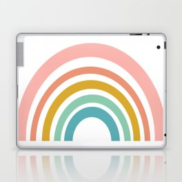 Simple Happy Rainbow Art Laptop & iPad Skin