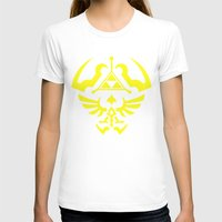 hyrule T-shirts featuring Hyrule Shield  by WaXaVeJu