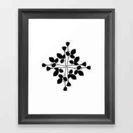 Red Cross Framed Art Print