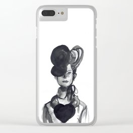 Woman XY 101 Clear iPhone Case