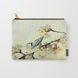 Nuthatch Bird Spring Flower Farmhouse Art Country Home Decor  A131 Carry-All Pouch